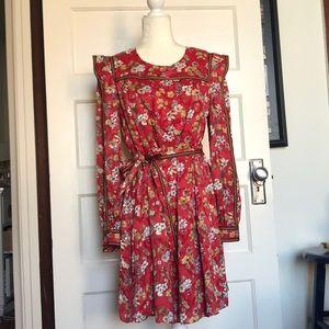Derek Lam 10Crosby floral mini dress with pockets